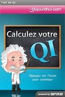 Screenshot of Test de QI gratuit