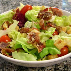 BLT Salad with Garlic Croutons