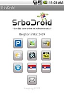 Screenshot of SrboDroid (СрбоДроид)