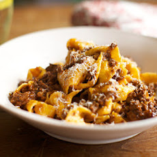 Papardelle with Rich Ragu
