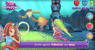 Screenshot of Winx Club: Winx Sirenix Power