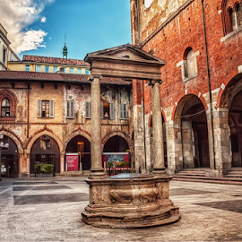 Piazza Mercanti by Andrea Conti - City,  Street & Park  Historic Districts