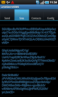 Screenshot of SMS Secret Lock
