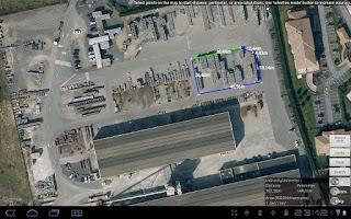 Screenshot of Map Tools - GPS measure & area