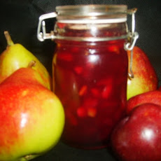 Plum Kissed Pear Jam