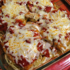 One-Pan Chicken Parmigiana