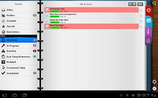 Screenshot of Pocket Informant-Events,Tasks