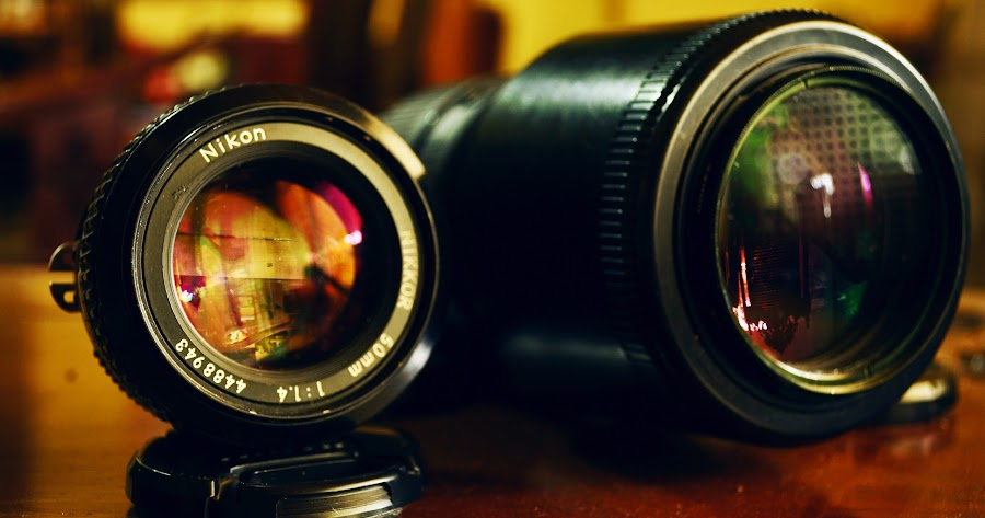 Lenses by Krishna Murti - Artistic Objects Other Objects ( lenses, krishna, fix, d3100, camera, nikkor, nikon, lens )