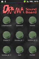 Screenshot of Drama Button Soundboard