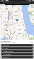 Screenshot of Ford SYNC® Destinations