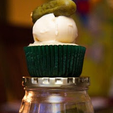 Pickle and Ice Cream Cupcakes