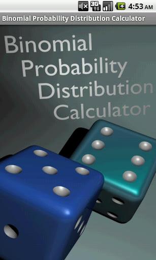 Binomial Graphing Calculator