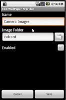 Screenshot of DroidSwitcher