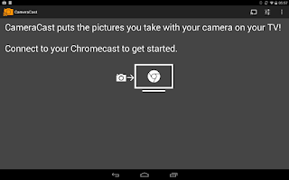 Screenshot of CameraCast for Chromecast