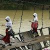Foto Perjuangan Anak Bertaruh Nyawa Demi Sekolah (Gambar 2)