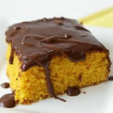 Brazilian Carrot Cake With Chocolate Icing