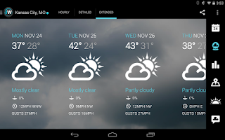 Screenshot of 1Weather:Widget Forecast Radar