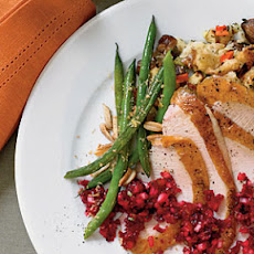 Green Beans with Lemon-Butter Breadcrumbs