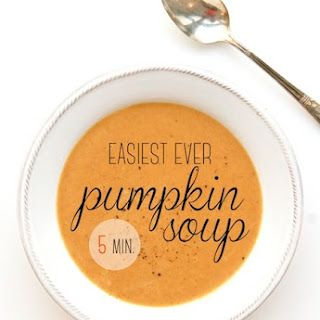 EASIEST EVER PUMPKIN SOUP
