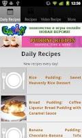 Screenshot of Pudding Recipes!
