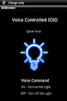 Screenshot of Voice Controlled IOIO