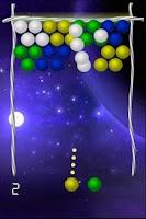 Screenshot of Space Bubble Shooting