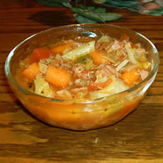 Vegetable Ham Stew