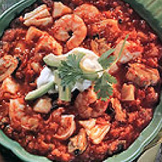 Crab & Shrimp Chili (Spicy)