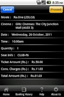 Screenshot of Glitz Cinemas