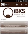 Screenshot of iBKS Config Tool