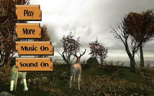 Deer jungle Attack-hunter - screenshot
