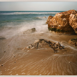 The Mediterranean Sea by David Solodar - Landscapes Beaches ( the mediterranean sea )