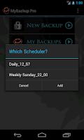 Screenshot of My Backup Root