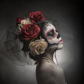 Corpse Bride by Siyu Liu - People Body Art/Tattoos ( girl, zombie, female, woman, bride, corpse )