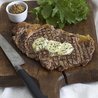 Horseradish Butter Steaks