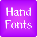 Free Download Hand fonts for FlipFont® free APK for Samsung