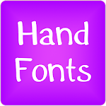 Hand fonts for FlipFont® free 6.3 Apk