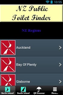 NZ Public Toilet Finder. - screenshot