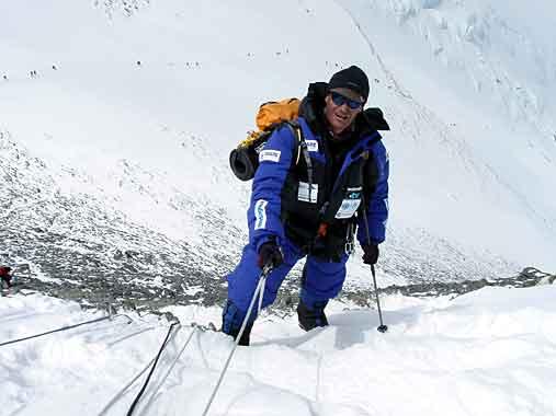 Abele Blanc Everest K2 News ExplorersWeb Il Cavaliere Silvio
