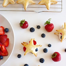 Berries & Cream Pastry Stars