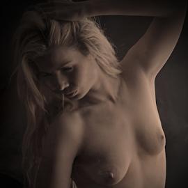 Steamy... by Jean-marc Nehmé - Nudes & Boudoir Artistic Nude ( nude, female, smoke, steam )