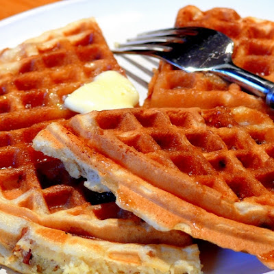 Maple-Bacon Waffles