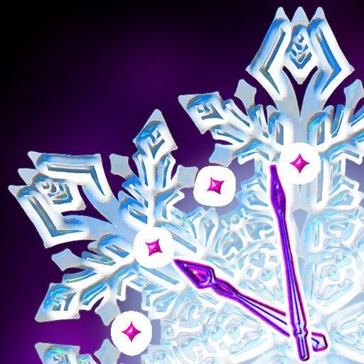 聖誕雪時鐘 個人化 App LOGO-APP試玩