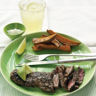 Lime-Marinated Skirt Steak