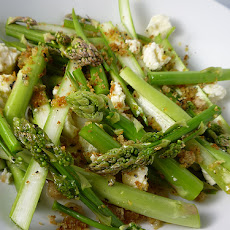 Asparagus, Bean and Pistachio Salad