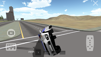 Screenshot of Police Car Drifting 3D