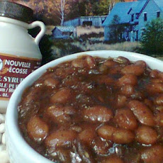 Canadian Baked Beans With Maple Syrup (No Molasses)