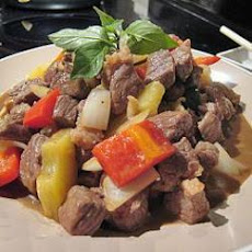 Chinese Beef And Pineapple Stir Fry