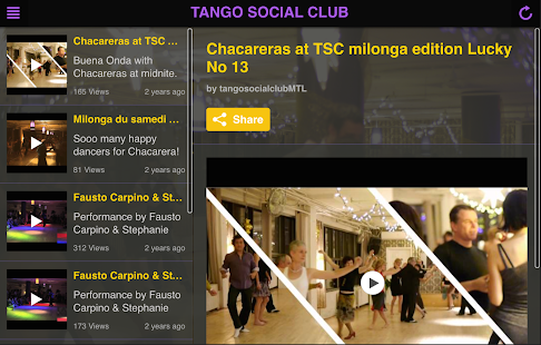 Tango Social Club - screenshot