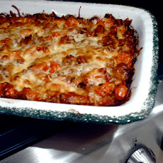 Lasagna with Lamb, Roasted Tomatoes and White Bean